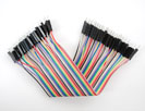 "Premium Male/Male Jumper Wires - 40 x 6"" (150mm)"