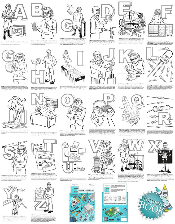 Ladyada's E is for Electronics