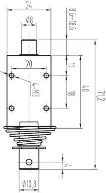 large-push-pull-solenoid