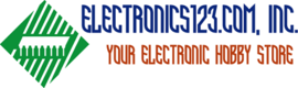 Electronics123.com, Inc. Your Electronic Hobby Store