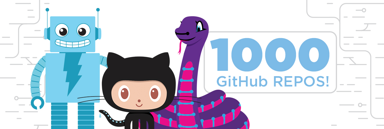 1000 GitHub Repos