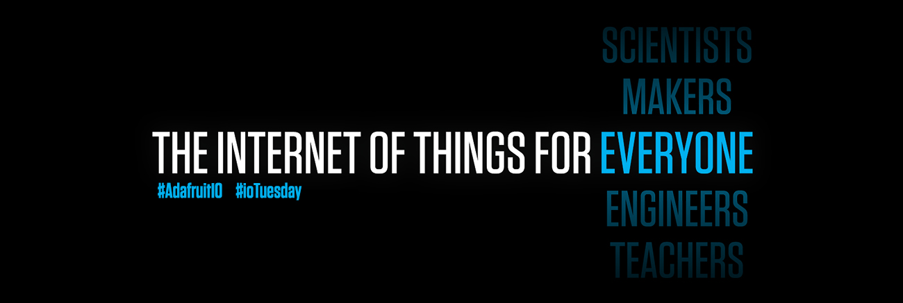 The internet of things for everyone, including scientists, makers, engineers, teachers...