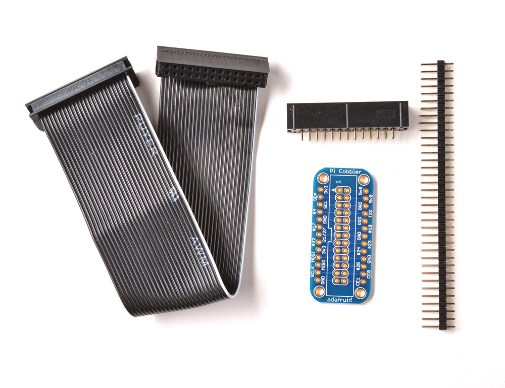 Adafruit Pi Cobbler Breakout Kit for Raspberry Pi - Click Image to Close