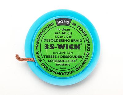 solder wick 3s 5ft id 149 adafruit industries unique fun diy electronics and kits. Black Bedroom Furniture Sets. Home Design Ideas