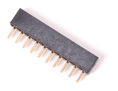 2mm 10 pin socket header (for XBee)