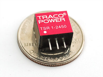 Mini DC/DC Step-Down (Buck) Converter - 5V @ 1A output