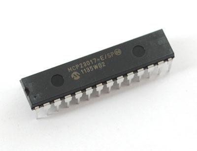 Puce MCP23017
