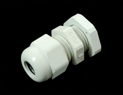 "Cable Gland PG-9 size - 0.158"" to 0.252"" Cable Diameter"