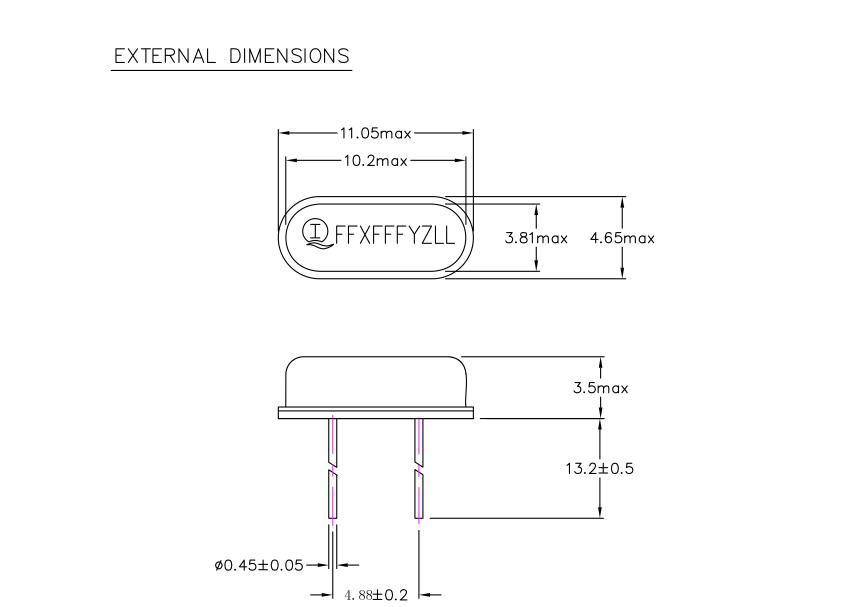 12 MHz Crystal + 20pF capacitors ID: 2214 - $0.75 : Adafruit ...