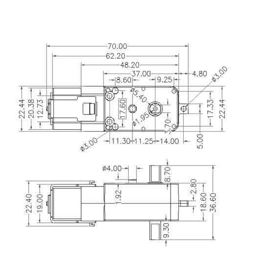 dc gear motor datasheet