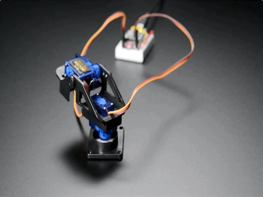 Mini Pan Tilt Kit Assembled With Micro Servos Id 1967