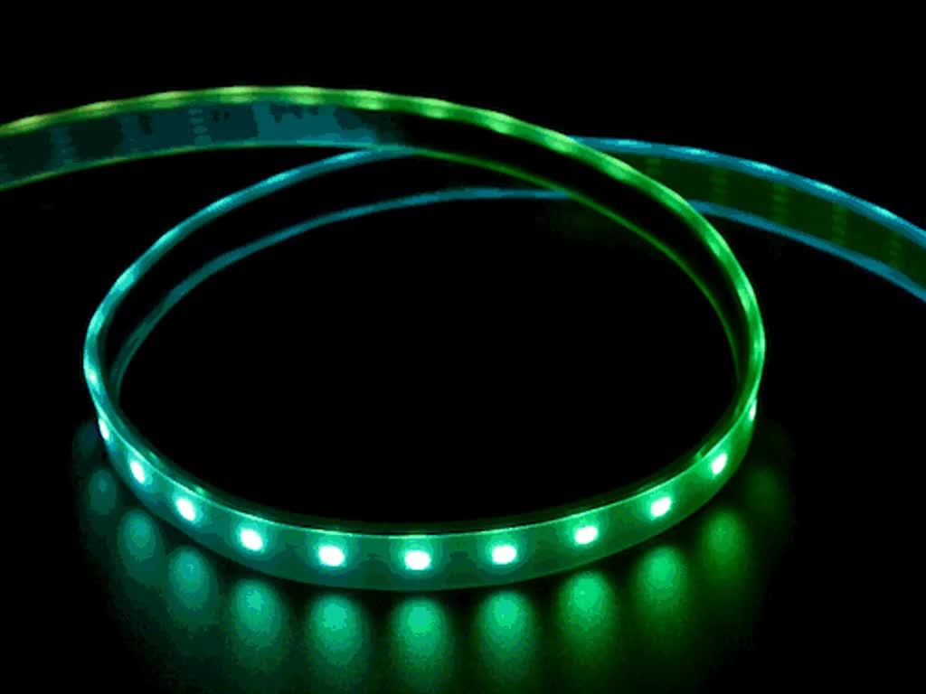 Adafruit DotStar Digital LED Strip - Black 60 LED - Per Meter - BLACK