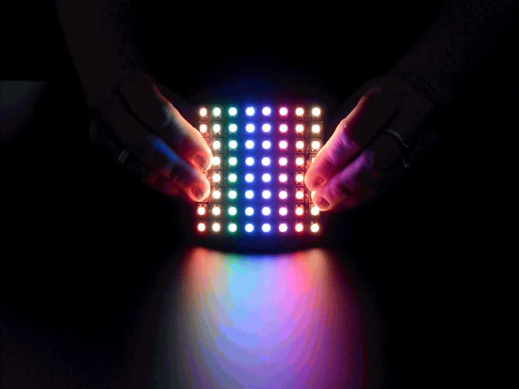 Flexible 8x8 Neopixel Rgb Led Matrix Id 2612 49 95