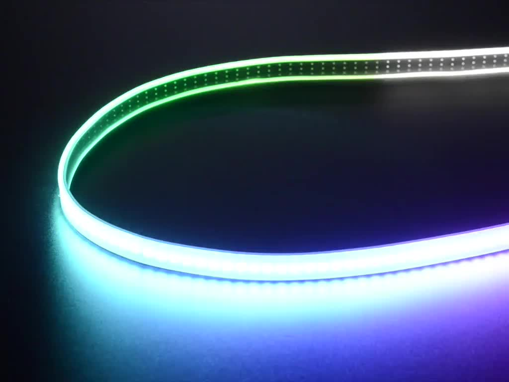 Adafruit neopixel digital rgbw led strip black pcb 144 Cool things to do with led strips