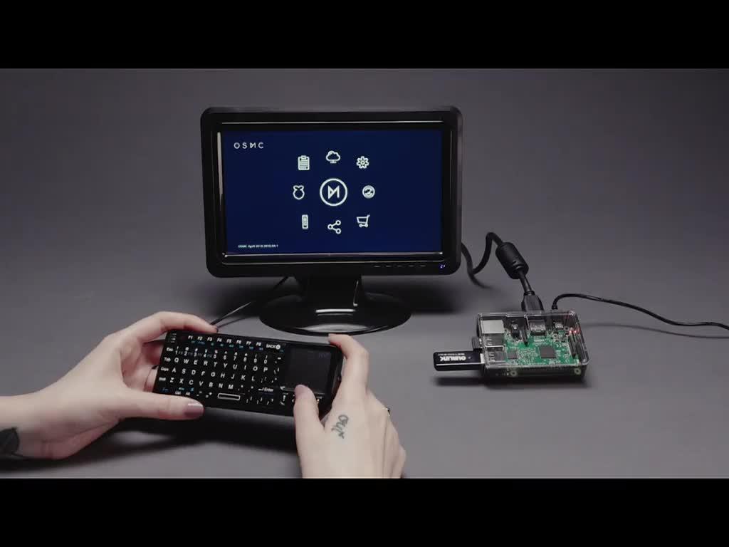 Raspberry Pi Media Center Kit - Includes Pi Model 3 B+