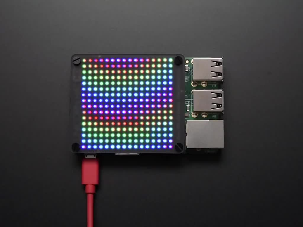 Pimoroni Unicorn HAT HD