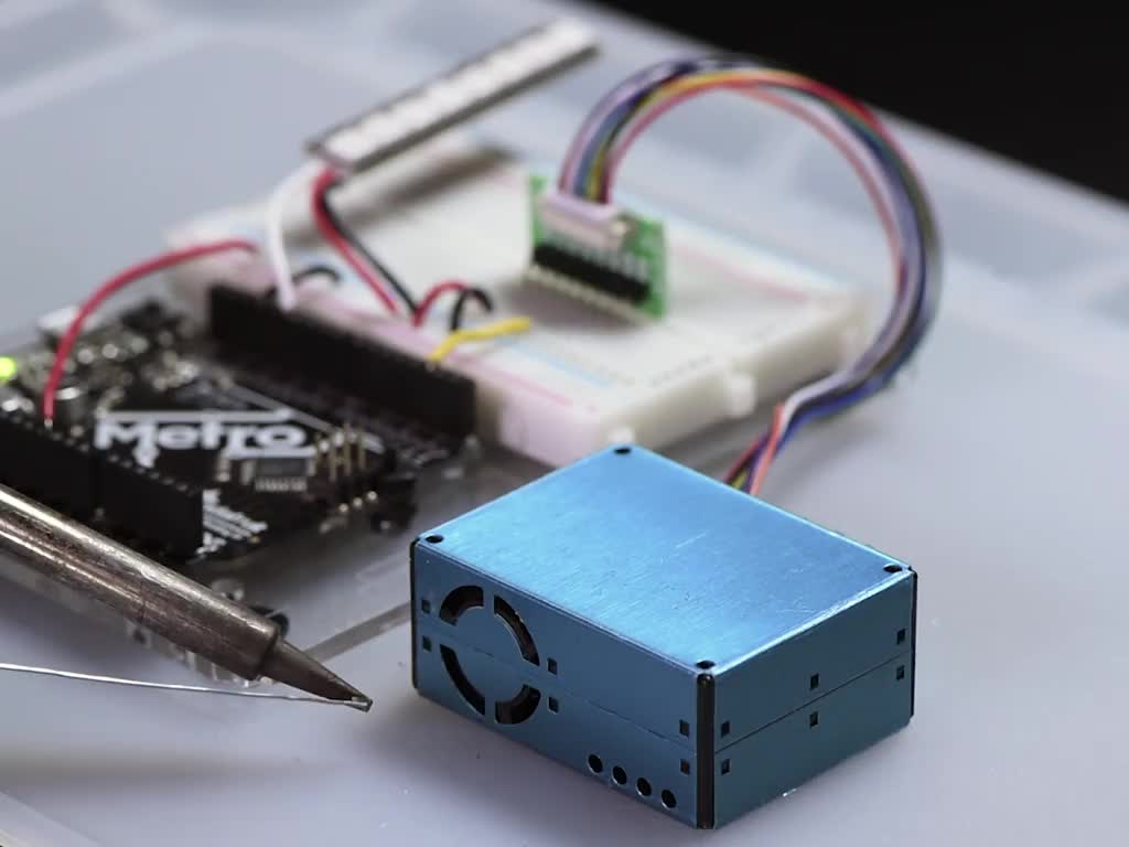PM2 5 Air Quality Sensor and Breadboard Adapter Kit [PMS5003] ID