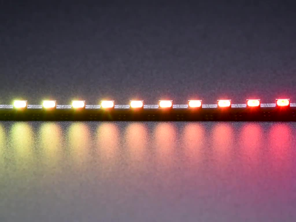 Side Light Neopixel Led Pcb Bar 60 Leds 120 Meter 500mm Black And White Circuit Board Code Long