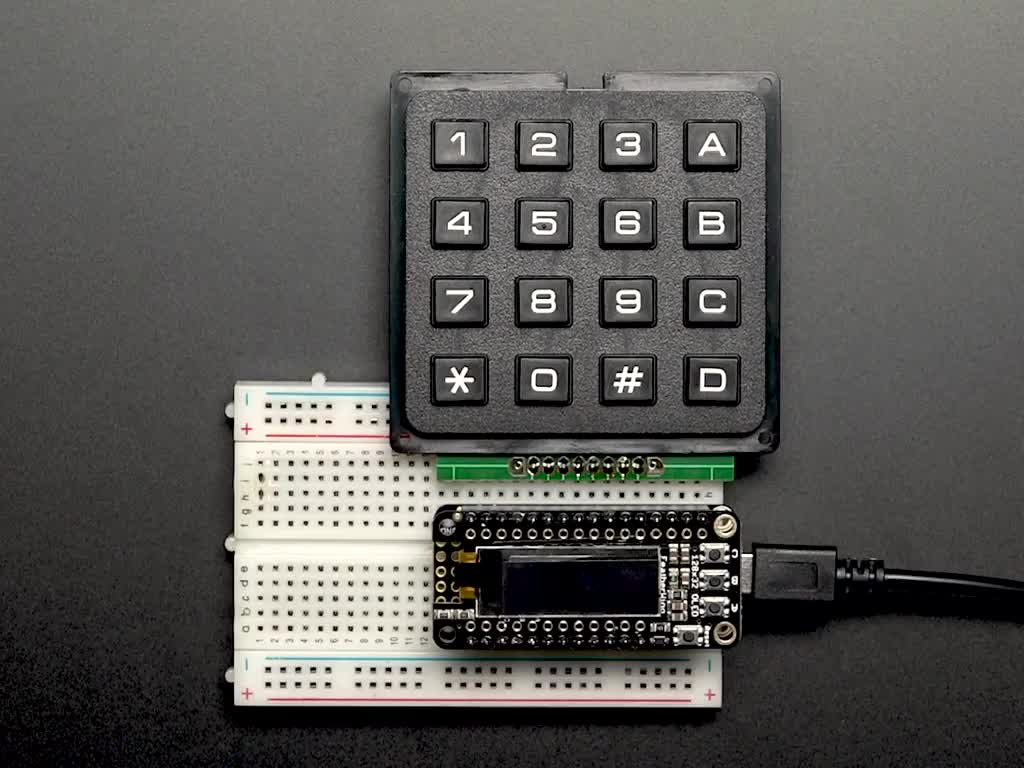 4x4 Matrix Keypad ID: 3844 - $5 95 : Adafruit Industries, Unique