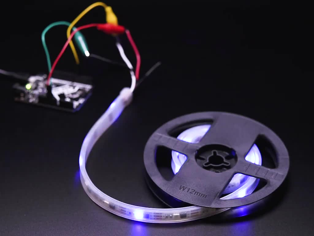 Adafruit NeoPixel UV LED Strip flickering all LEDS