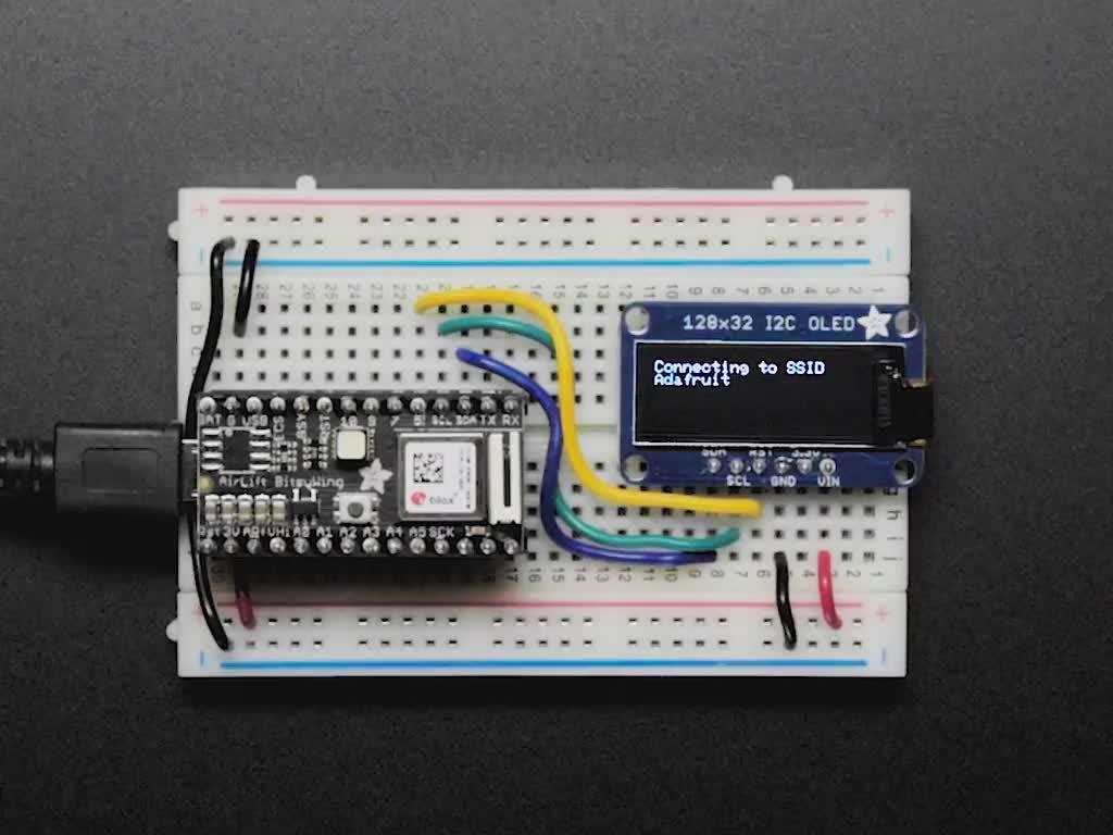 Adafruit AirLift Bitsy Add-On – ESP32 WiFi Co-Processor