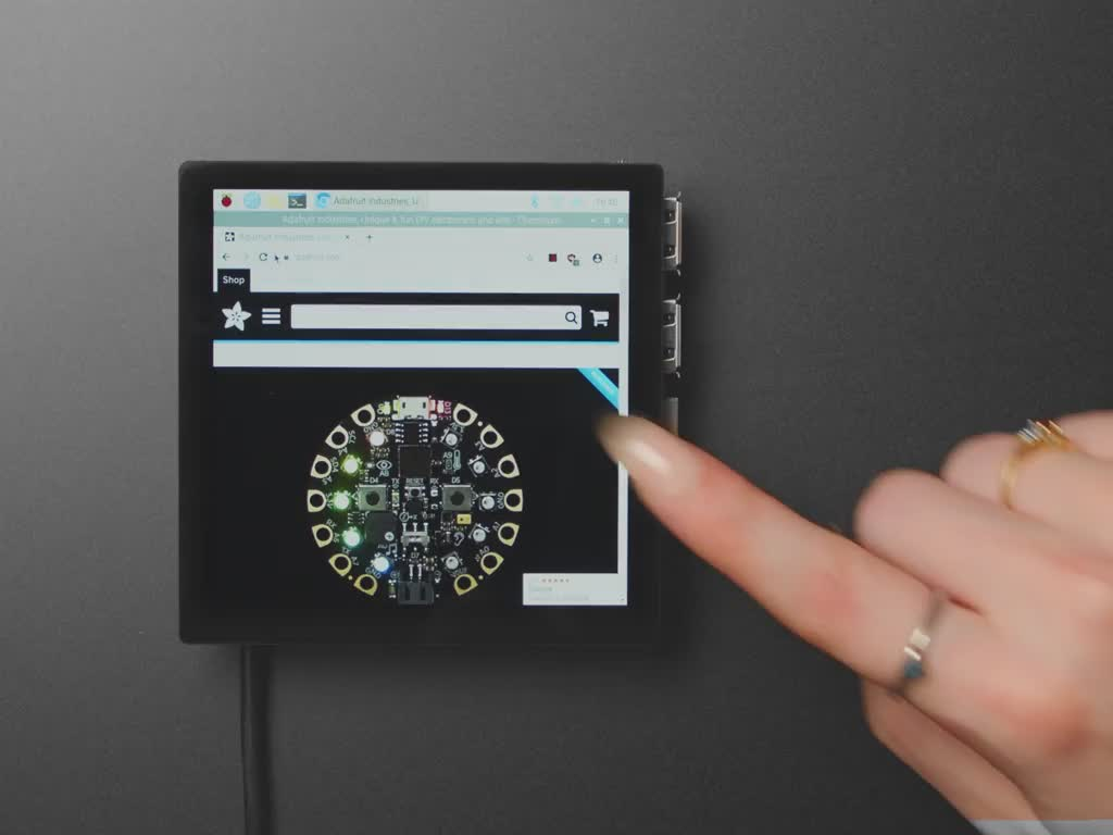 Pimoroni HyperPixel 4.0 Square - Touch Display for Raspberry Pi - Capacitive Touch - PIM470