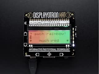 Pimoroni Display-O-Tron HAT