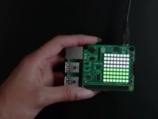 Raspberry Pi Sense HAT [For the Pi 3 / 2 / B+ / A+] ID: 2738