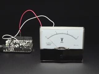 Large 3V Analog Panel Meter