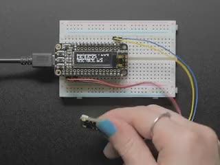 Adafruit LSM303AGR Accelerometer Magnetometer - STEMMA QT Qwiic