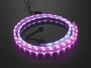 Dual Edge Side-Light NeoPixel LED Strip with120 LEDs per meter
