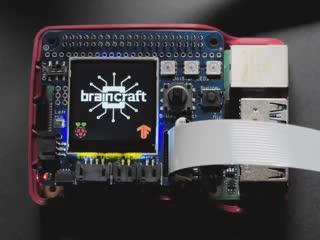 Video of BrainCraft HAT identifying a coffee mug.