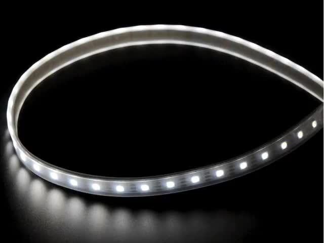 Adafruit DotStar LED Strip - Addressable Cool White - 60 LED/m