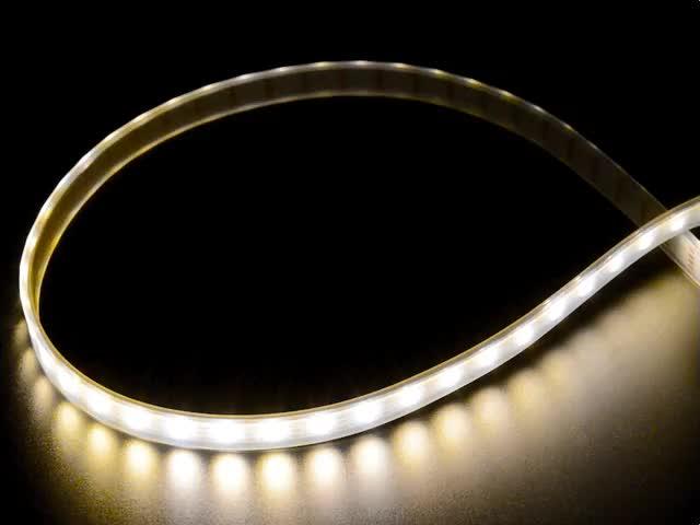 Adafruit DotStar LED Strip - Addressable Warm White - 60 LED/m