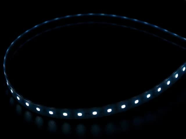Analog RGBW LED Strip - RGB plus Cool White - 60 LED/m