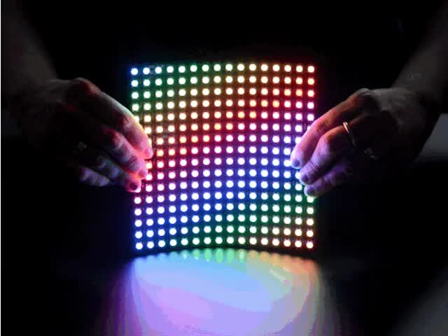 Flexible 16x16 NeoPixel RGB LED Matrix
