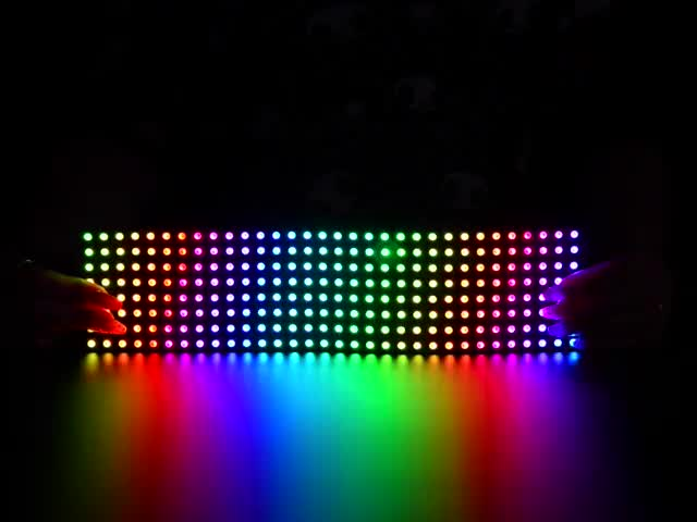 Flexible Adafruit DotStar Matrix 8x32 - 256 RGB LED Pixels