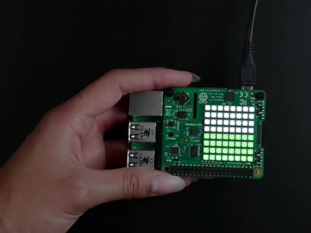 Raspberry Pi Sense HAT - any Raspberry Pi with 2x20 Connector