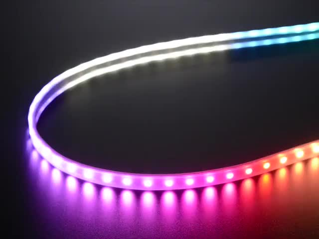 Adafruit NeoPixel Digital RGBW LED Strip - Black PCB 60 LED/m