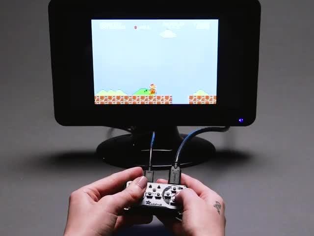 Mini Analog Joystick - 10K Potentiometers ID: 3102 - $19 95