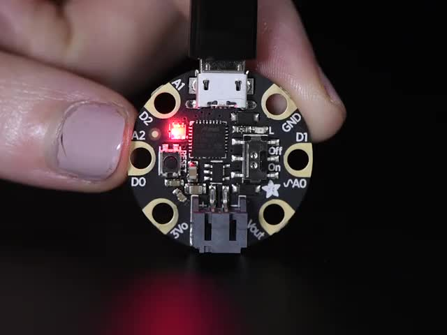 Adafruit GEMMA M0 - Miniature wearable electronic platform