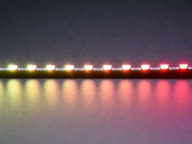 Side Light NeoPixel LED PCB Bar - 60 LEDs