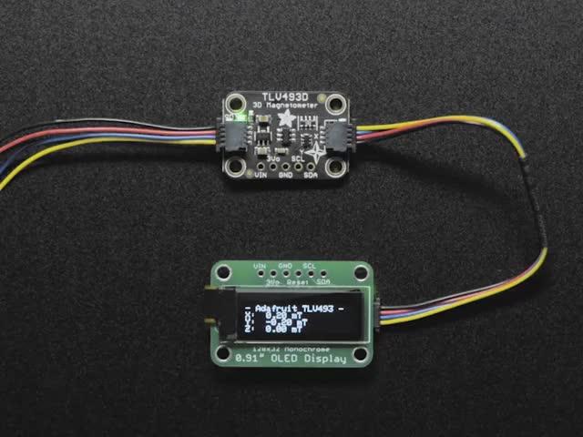 Adafruit TLV493D Triple-Axis Magnetometer - STEMMA QT / Qwiic