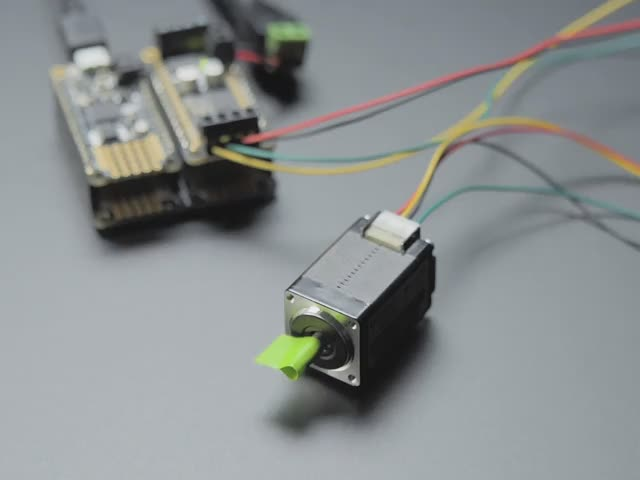 Mini Stepper Motor - 200 Steps - 20x30mm NEMA-8 Size