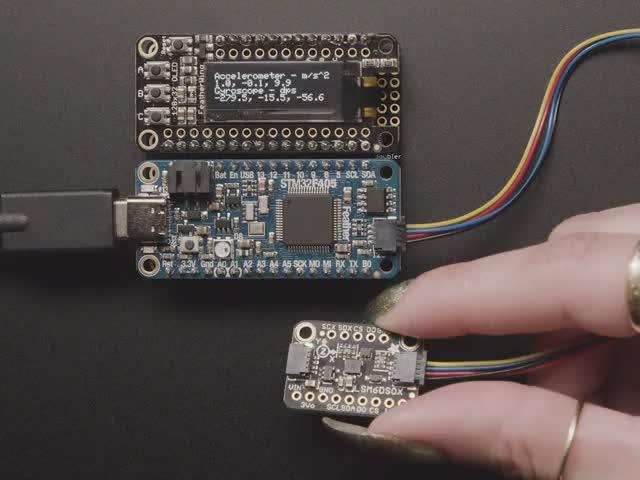 Adafruit LSM6DSOX 6 DoF Accelerometer and Gyroscope