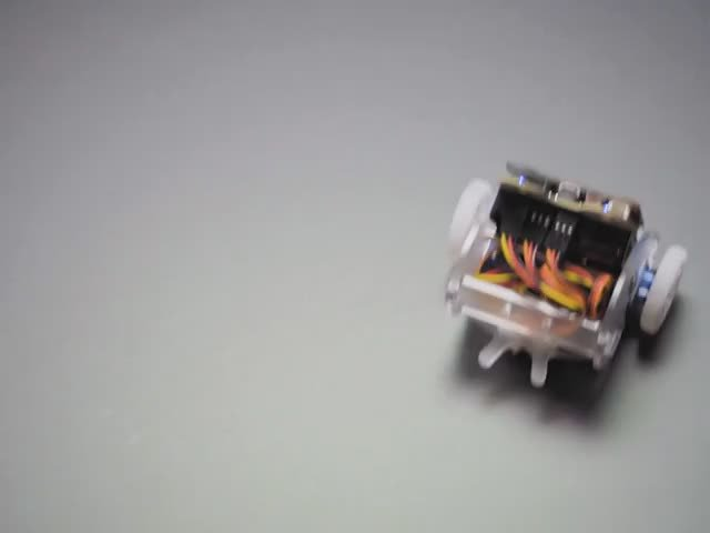 micro:bit Ring:Bit Buggy Car Robot (without micro:bit)