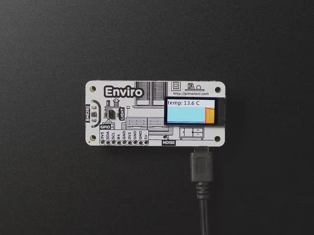 Pimoroni Enviro – Indoor Environmental Monitor for RaspPi