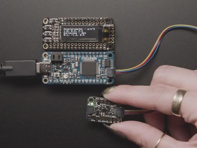 Adafruit ISM330DHCX - 6 DoF IMU - Accelerometer and Gyroscope