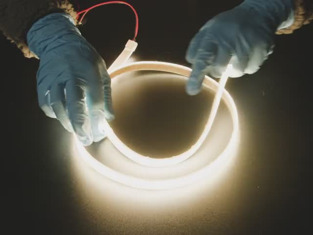 Ultra Flexible White LED Strip -  480 LED per meter - 1m long