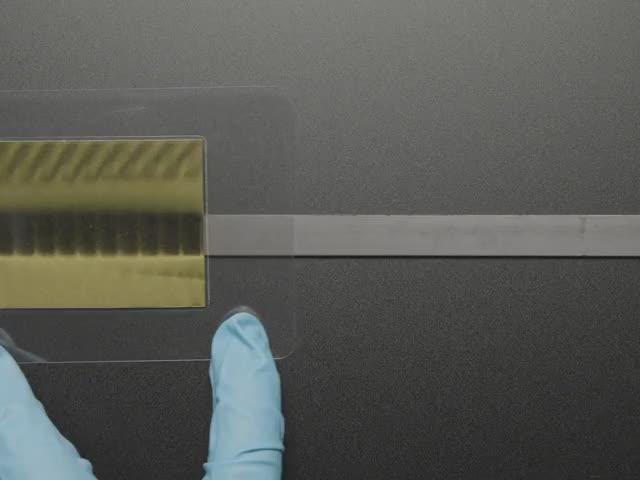 Alternating Multi Pole Magnetic Strip - 1 meter long